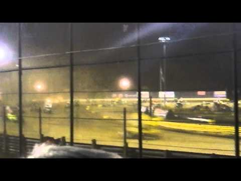 2014 World of Outlaws at New Egypt Speedway