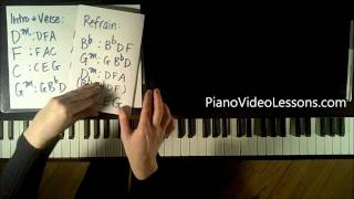How to Play:  Set Fire to the Rain by Adele - Piano Tutorial EASY