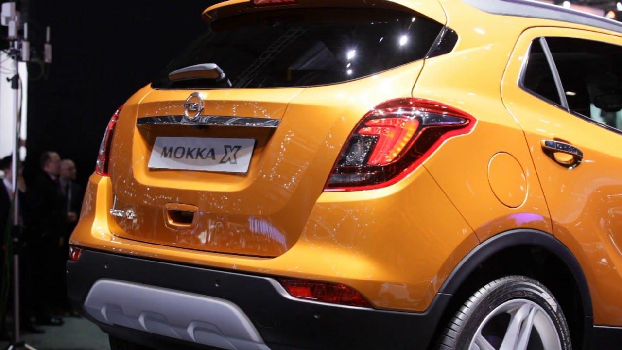 Genfer Autosalon 2016 Opel Mokka X Heck Design Youtube