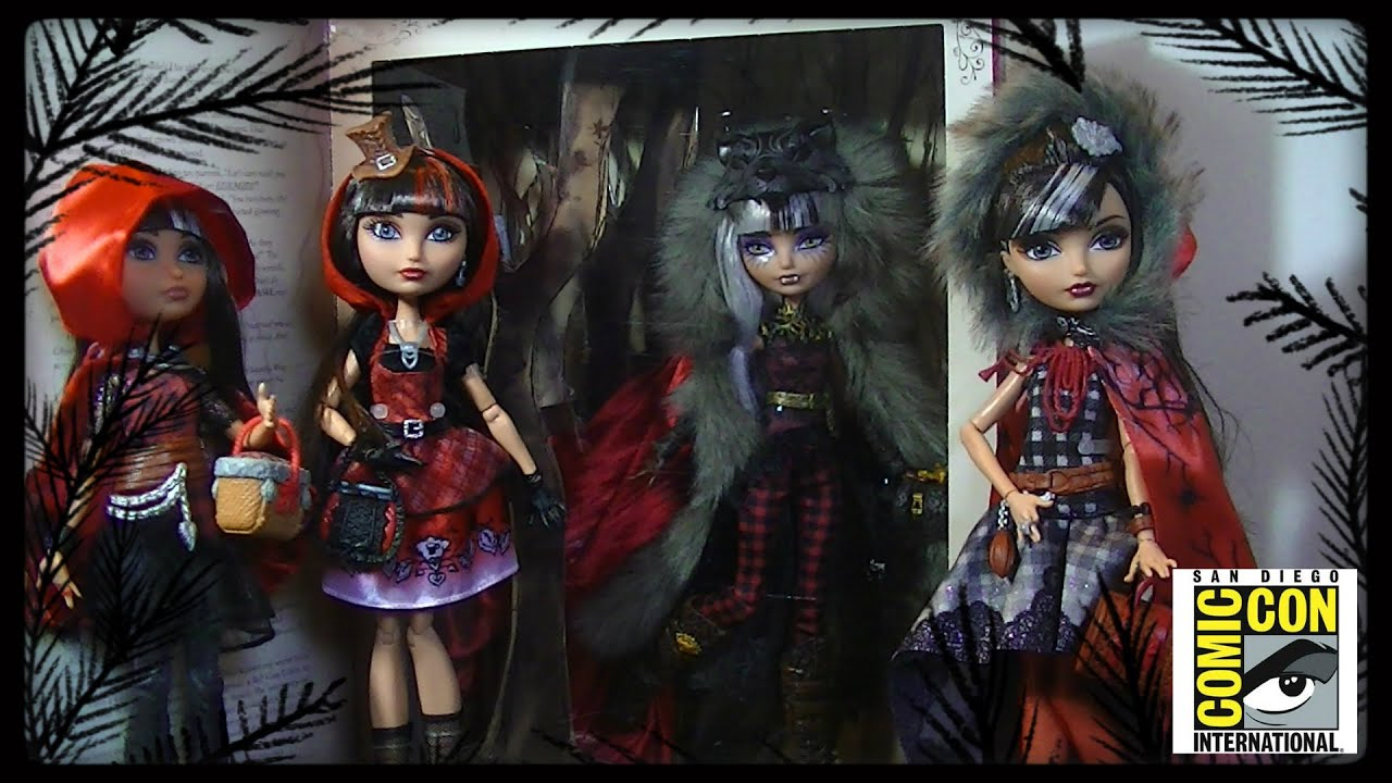 Cerise Wolf SDCC 2014 Review/Doll Comparisons/Cerise Hood ...