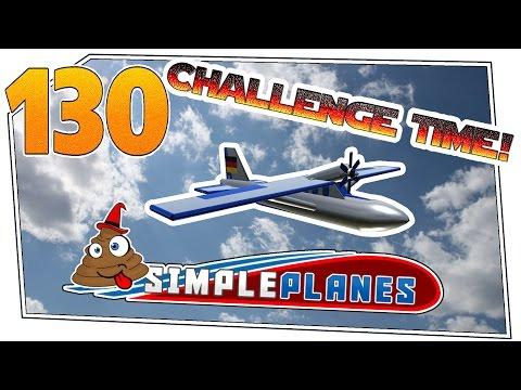 Simple Planes #130 - Challenge Time! Kein Fahrwerk 1 | Let's Play Simple Planes german deutsch HD