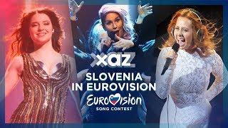 🇸🇮 Slovenia in Eurovision - Top 9 (2010-2018)
