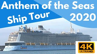 Royal Caribbean Anthem Of The Seas | Full Ship Tour & Review | 4K | 2020