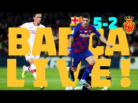 ⚽ Barça 5 - 2 Mallorca | BARÇA LIVE: Warm Up & Match Center #BarçaMallorca