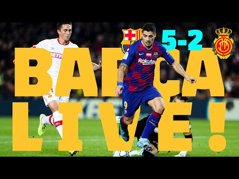 ⚽ Barça - Mallorca   BARÇA LIVE: Warm Up & Match Center #BarçaMallorca