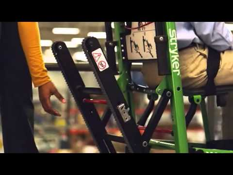 Stryker Evacuation Chair Training Video Youtube