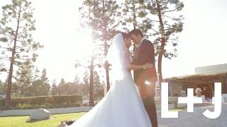 Linda & Justin Wedding Highlight // Costa Mesa, California