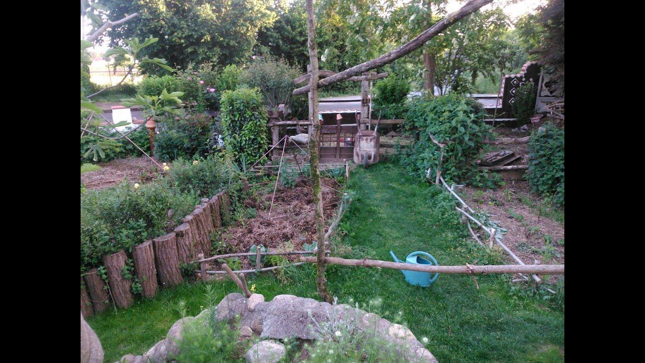 Jardin potager de lo c permaculture et lectroculture for Jardin mai 2015
