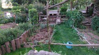 Repeat youtube video Jardin potager de Loïc - Permaculture et Électroculture - Mai 2015