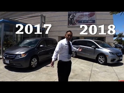 🚐 2017 vs 2018 Honda Odyssey Comparison🚘🚐👪👫