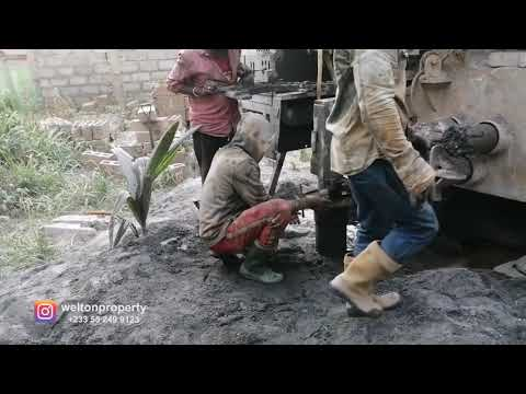 Borehole Drilling When Building in Ghana   2021