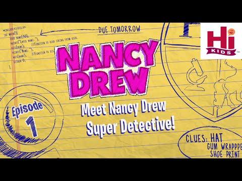 Meet Nancy Drew Super Detective! l Ep. 1 of 6 l Nancy Drew: Codes & Clues | Hi Kids