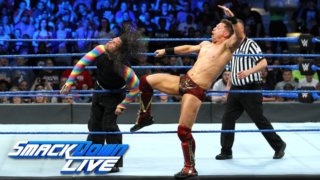 Jeff Hardy vs. The Miz - Men's Money in the Bank Qualifying Match: SmackDown LIVE, May 8, 2018