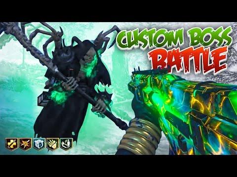 GRIM REAPER CUSTOM BOSS BATTLE! - Black Ops 3 Custom Zombies Mods