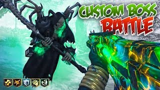 GRIM REAPER CUSTOM BOSS BATTLE! - Black Ops 3 Custom Zombies Mods