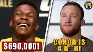 UFC 253 Fighter Salaries REVEALED, Gaethje GOES OFF on Conor McGregor,Dan Hardy on Costa vs Adesanya