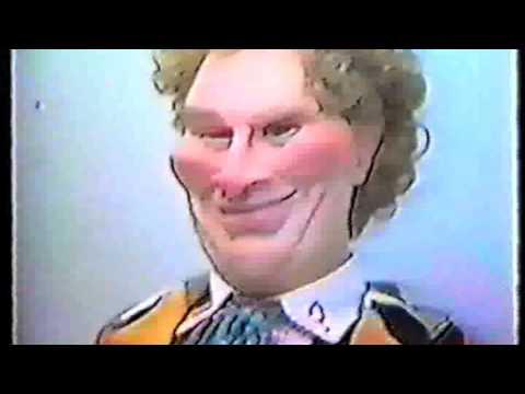 Auf Wiedersehen Doc 1985 Colin Baker puppet spoof rare