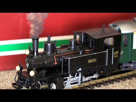 Realistic Toy Steam Train With Smoke