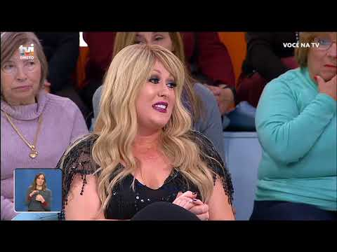 Rebeca regressa aos palcos  «O pior já passou» - Você na TV