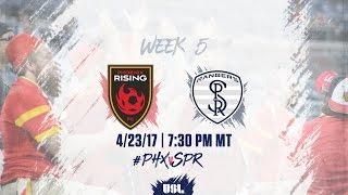 usl live phoenix rising fc vs swope park rangers 4 23 17