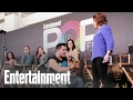 Crazy Ex-Girlfriend: Rachel Bloom & Cast Perform 'JAP Battle' Live | PopFest | Entertainment Weekly