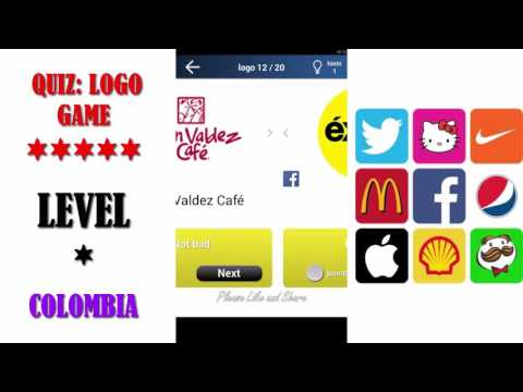 Quiz: Logo Game Colombia - All Answers - Walkthrough ( By Lemmings at work )