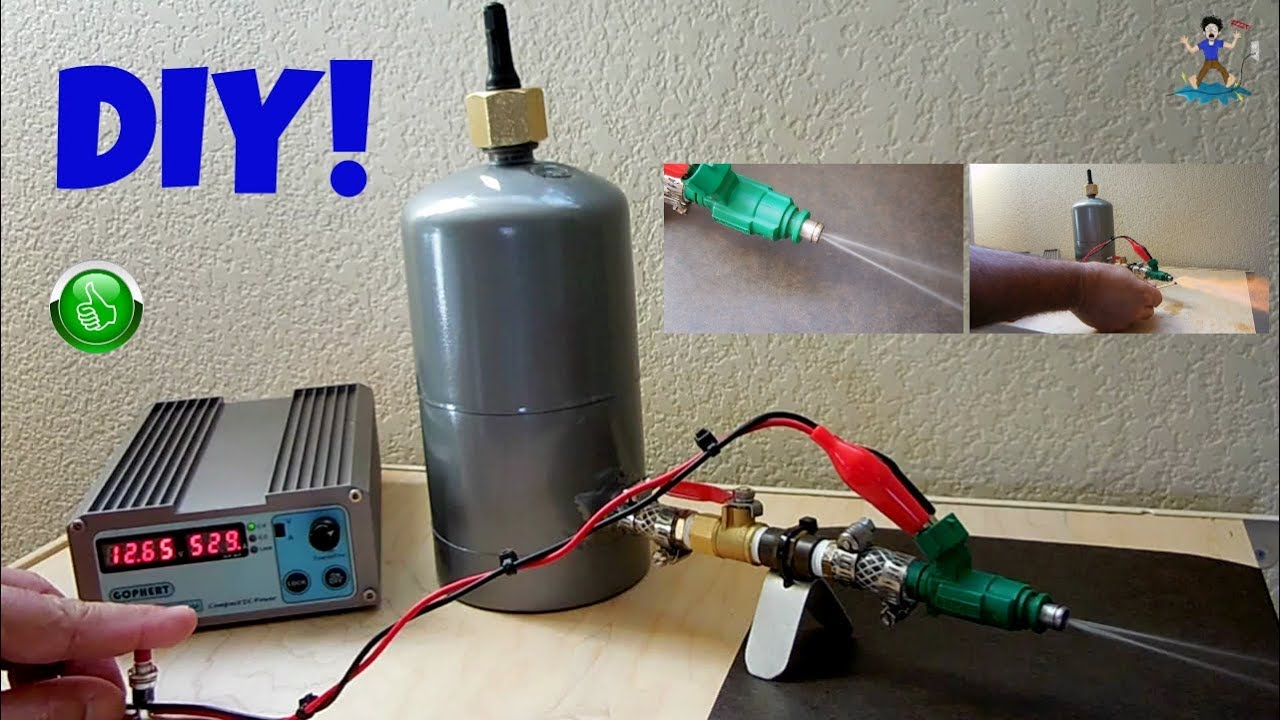 Diy Homemade Fuel Injector Tester For 25 Youtube