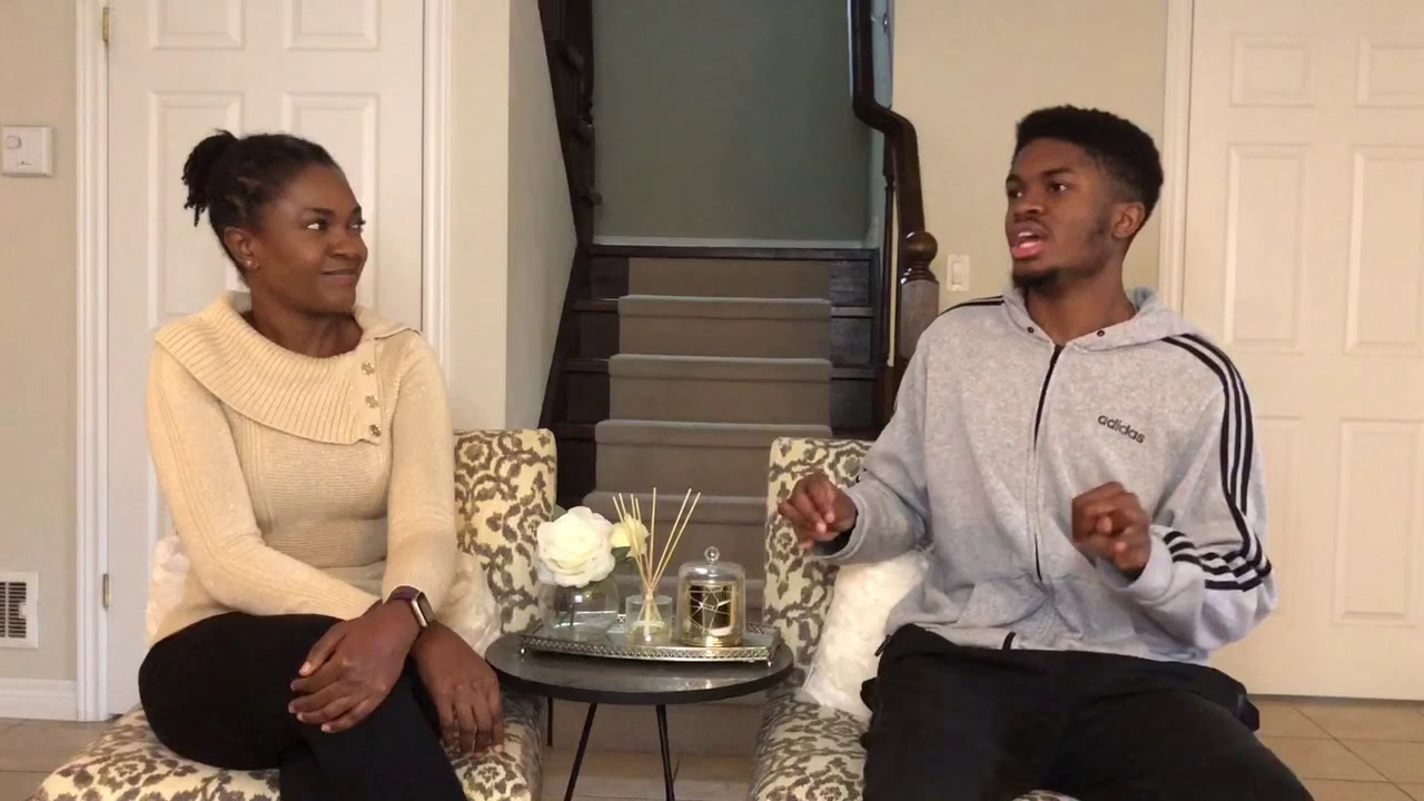Download Stay Happy #AtHome And Chat With Omoni And Gozi On How To Combat Depression.