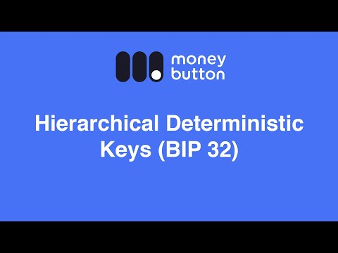 HD Private Keys (BIP32) · Money Button Documentation