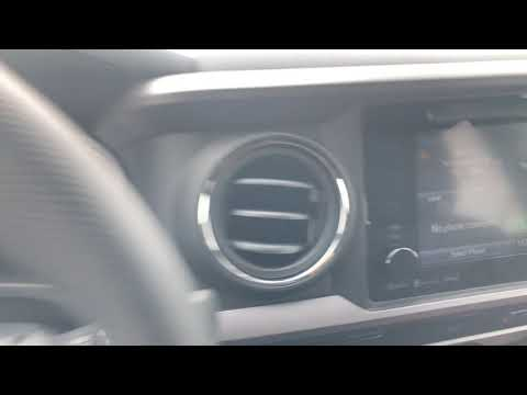 Toyota Tacoma – USB ports, auxiliary port, and power port locations