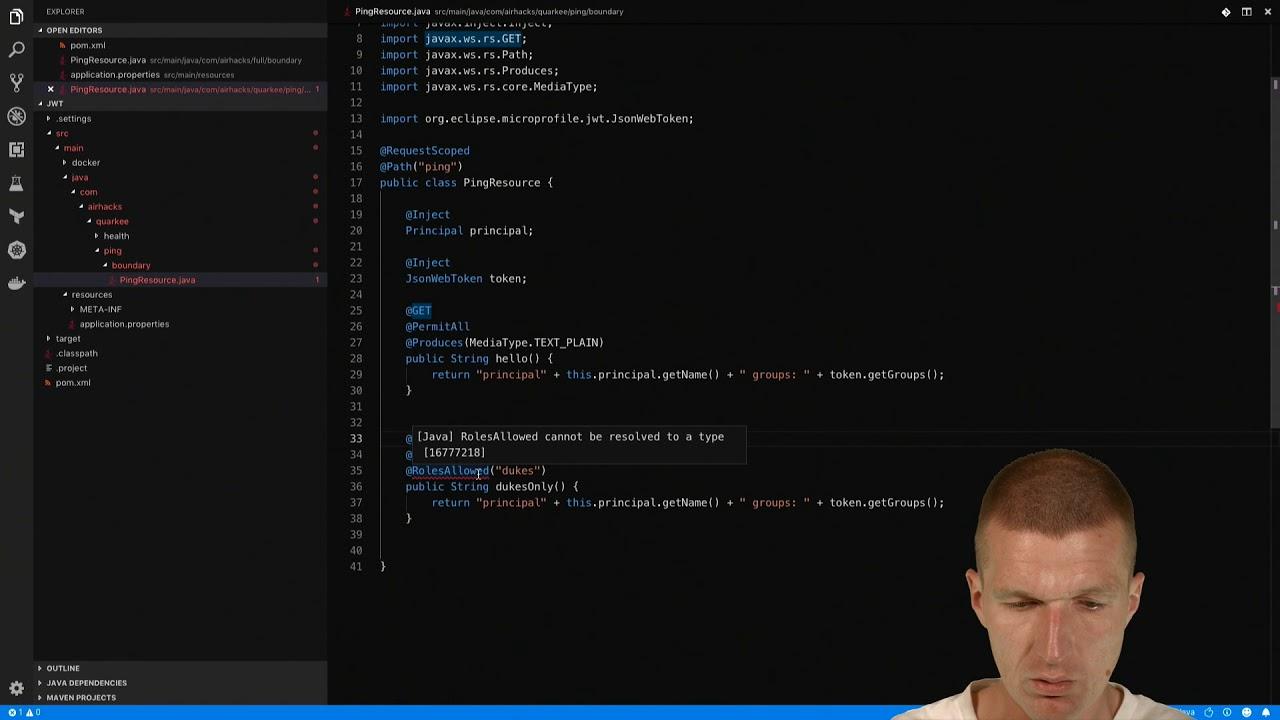 Securing JAX-RS Endpoints with JWT : Adam Bien's Weblog
