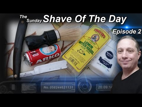 WB Vintage Straight Razor Shave, Shave Of The Day, ARKO, The Sunday #SOTD Ep2