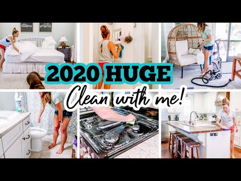 2020 HUGE 3 DAY CLEAN WITH ME | EXTREME CLEANING MOTIVATION | PORCH MAKEOVER | Amy Darley