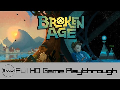 Broken Age (Act 1) - Full Game Playthrough (No Commentary)