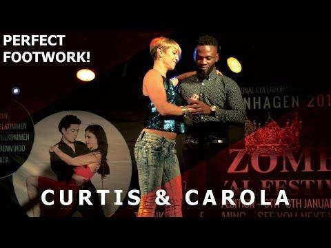 Curtis & Carola Urbankiz Dance Demo @ Copenhagen Kizomba Festival 2017 | 4K HD