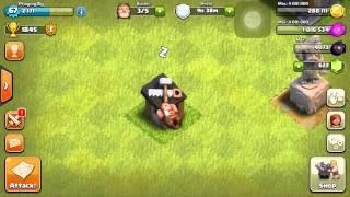 Clash of clans -builder hut glitch 2015