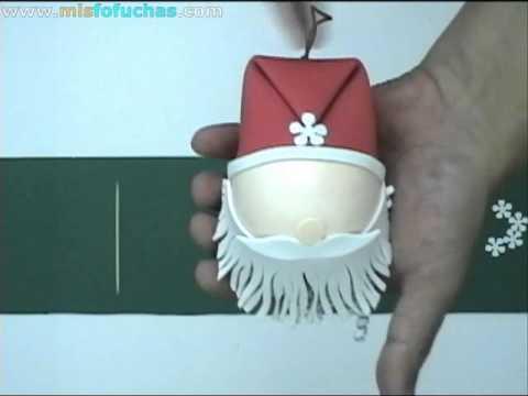 Adornos navide os en foamy pap noel para rbol de navidad - Fotos de adornos de navidad ...