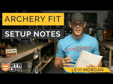 """""""Archery Fit"""" Ep.8 Bow Setup Notes 