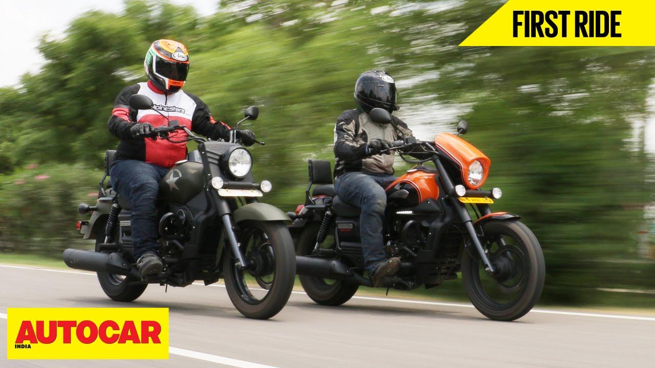 Um Renegade Commando Sport S First Ride Autocar India Youtube