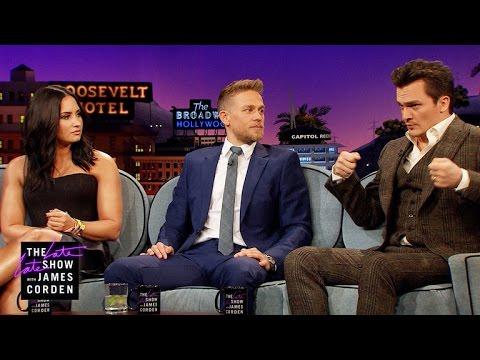 Rupert Friend, Charlie Hunnam & Demi Lovato Have Combat Skills