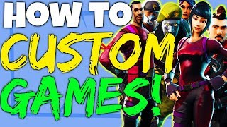 Fortnite Battle Royale How To Play Custom Games Private Matches - PC, Xbox One et PS4