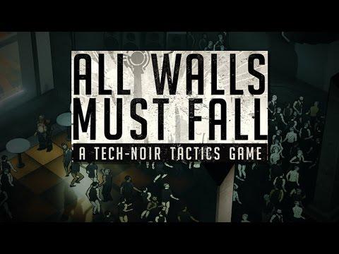 ALL WALLS MUST FALL | Tech-Noir Tactics Game | Pre-Alpha Gameplay |