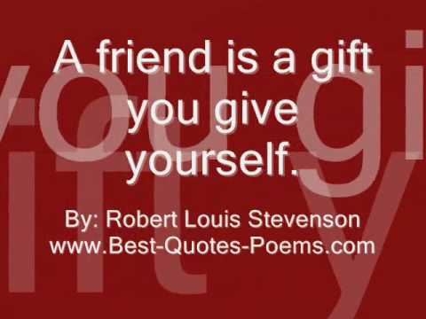 Friendship Quotes And Sayings Youtube