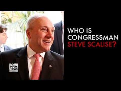 Who is Congressman Steve Scalise? During a congressional baseball game practice, Congressman Steve Sca