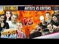 ARTISTS VS EDITORS - YOGSCAST JINGLE JAM - 11th December 2017