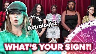 Astrologists Guess People's Zodiac Signs Out Of A Lineup