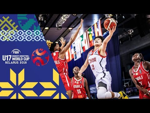 China v Mali - Full Game - FIBA U17 Women's Basketball World Cup 2018