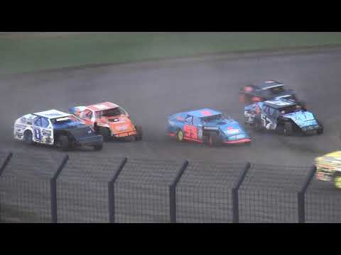 IMCA Modified Heat 4 Davenport Speedway 9/21/18