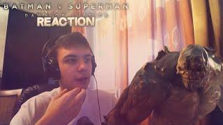 "Reaction | Трейлер #2 ""Batman v Superman/Бэтмен против Супермена"""