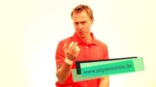 Physiotherapie - Wie stabilisiere ich mein Handgelenk?? -  Übungen für zu Hause